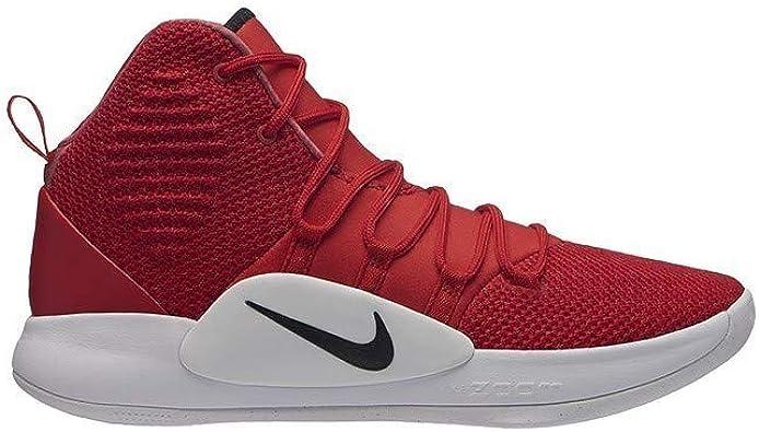 Nike Men's Hyperdunk X Team Basketball Shoe University Red/Black/White Size  11 M US
