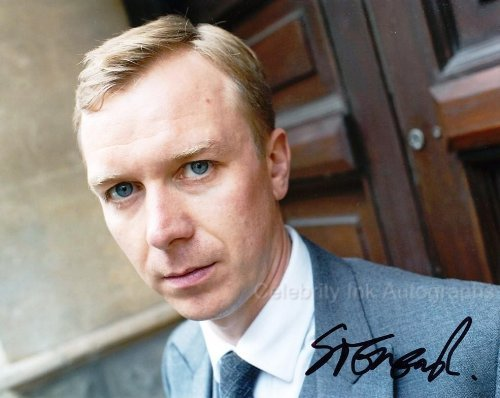 STEVEN ROBERTSON as Dominic Rook - Being Compassionate Genuine Autograph