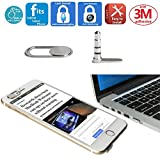 Mic Lock Sound Blocker Anti-avesdropping   Laptop Webcam Camera Cover Protection for iPhone Smartphone Laptop Tablet   Mic Blocker Lock Your Sound, Webcam cover Stops Webcam Spying
