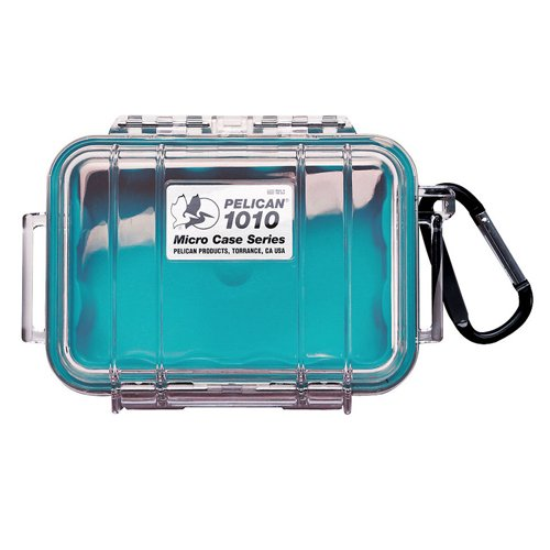 Pelican Micro Case 1010/Blue/Clear by Pelican