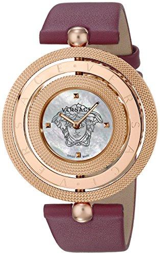 Versace Women's VQT030015 Eon Analog Display Quartz Red Watch