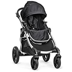 Our most versatile yet, the City Select stroller grows with your family and could be the only stroller you'll ever need! This designer stroller boasts 16+ available configurations to fit your family's needs. It easily becomes a luxury baby st...
