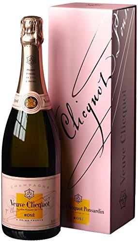 Veuve Clicquot Rosé Champagner Brut mit Geschenkverpackung (1 x 0.75 l)