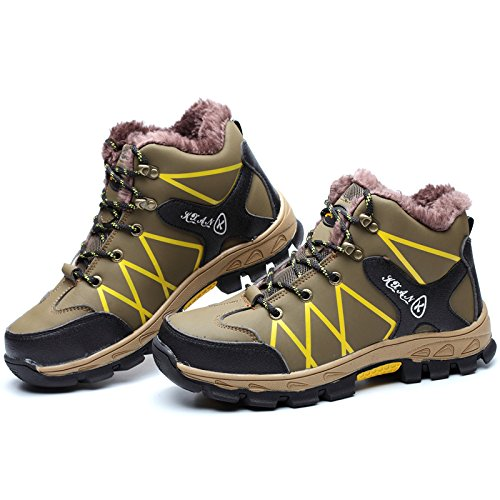 durable leather boots proof Zx1715 work steel cotton toe shoes puncture steel winter ZdwTg5qxd
