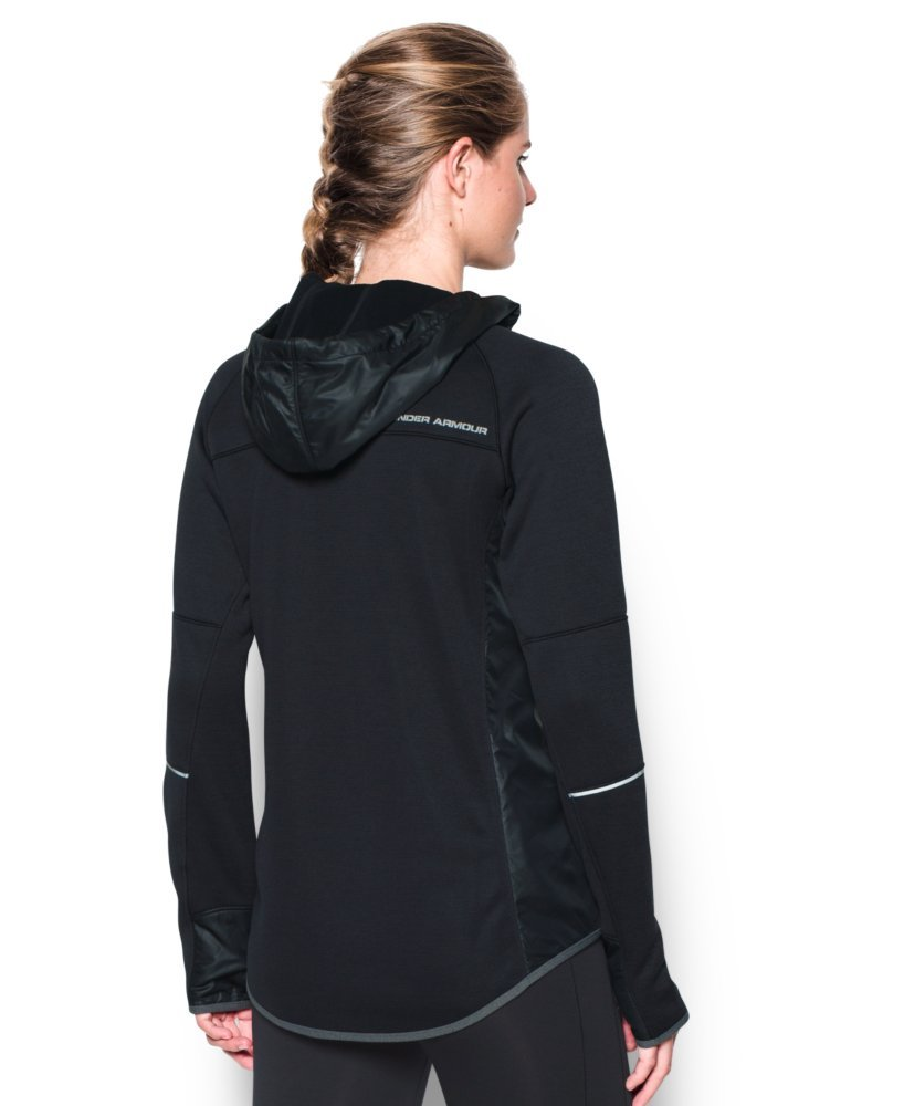 Under Armour Women's Storm Swacket Full Zip, Black/Black, Large by Under Armour (Image #2)