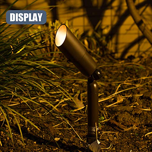 GOODSMANN Low Voltage Landscape Lighting Pro Light Set, Waterproof Low Voltage Lighting with Spike Stand for Garden, Yard, Pathway, Lawn, Driveway Outdoor Lighting 10-Piece 9920-9903-10 by GOODSMANN (Image #2)