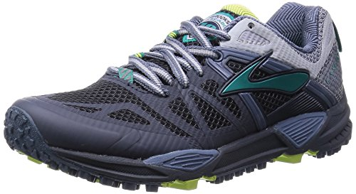 Womens Brooks Cascadia 10 Running Shoe Ombre Blue/Sterlin...