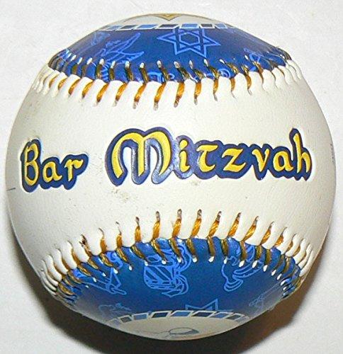 Bar Mitzvah Baseball Thank You 40 Favor Baseballs ()