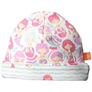 Magnificent Baby Baby Girls' Reversible Hat, Ms Mermaid Siren Says, O/S