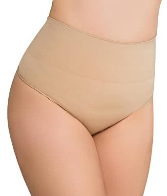 a2a687b076f Image Unavailable. Image not available for. Color  Eurotard Womens LEGER MID  WAIST THONG SHAPER ...