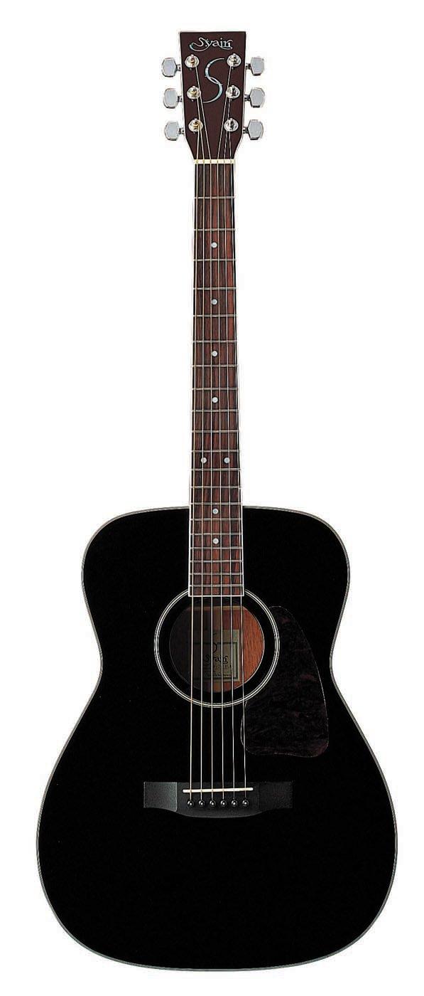 S.Yairi ヤイリ Traditional Series アコースティックギター YF-3M/BK ブラック B019SSDYIO ブラック ブラック