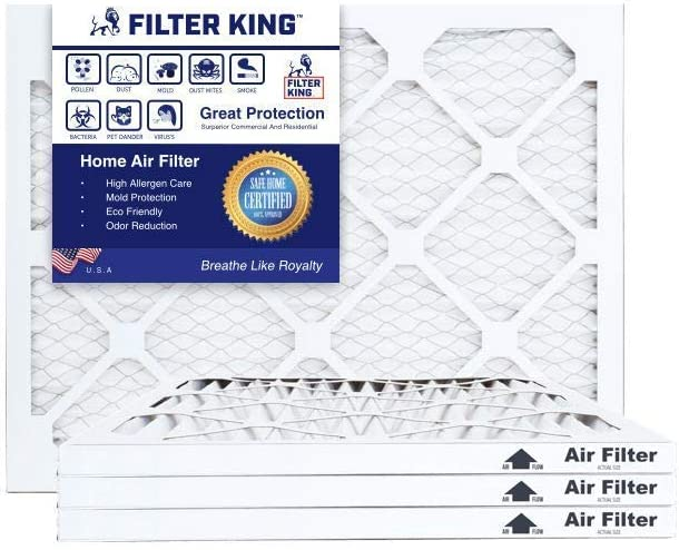 Nordic Pure 16x36x1 Exact MERV 8 Pleated AC Furnace Air Filters 3 Pack