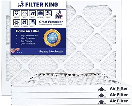 AIRx Filters 19.75x21.5x1 Air Filter MERV 11 Pleated HVAC AC Furnace Air Filter Allergy 6-Pack Made in the USA