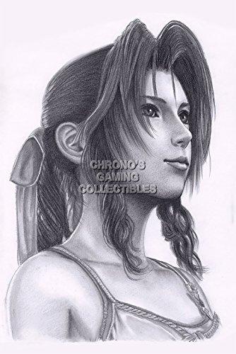 Final Fantasy CGC Huge Poster VII Advent Children Aerith Gainsborough PS1 PSP - FVII004 (16