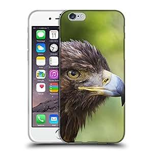 """Super Galaxy Coque de Protection TPU Silicone Case pour // F00003572 Golden Eagle Retrato Asentado acción // Apple iPhone 6 6S 6G PLUS 5.5"""""""