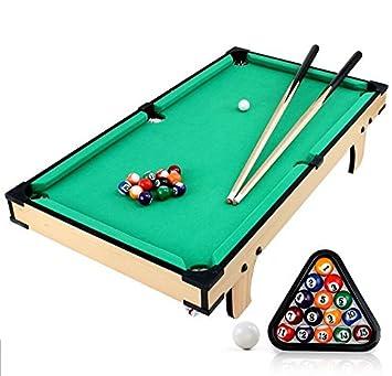 micord Juego de juegos de mesa de billar/billar mesa de madera ...