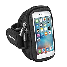iPhone 6 Armband, MOREZONE Sports Running Armbands For iPhone 6/6S Galaxy S7/S6/S6 Edge/S5/S4 Cell Phone Case For Exercise Workout Walking Climbing Cycling Racing Fitness Arm Band With Adjustable Size