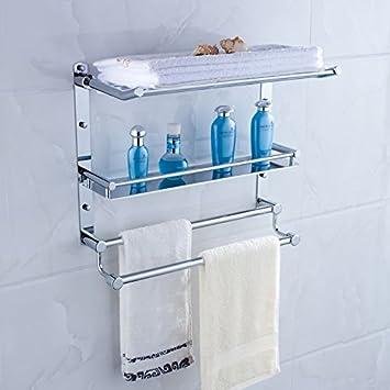 Amazon.com : Stainless Steel Bathroom Stands Bathroom Supplies ...