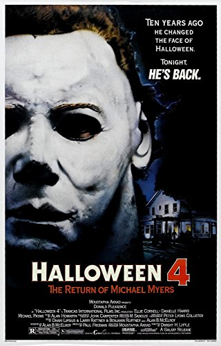 HALLOWEEN 4 The Return of Michael Myers Movie Poster -