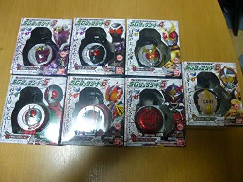 仮面ライダー鎧武 食玩SGロックシード7種 B07Q78N2XS
