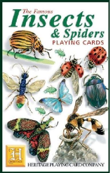 Naipes Patrimonio insectos y arañas Baraja: Amazon.es: Hogar