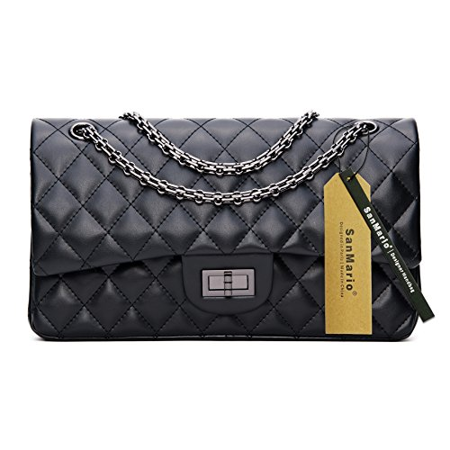 Quilted Lambskin Single Flap - 1
