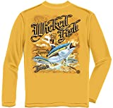 Tuna Yellowtail Bluefin Fishing 100% Cotton Casual Men's Long Sleeved Shirts, Show Your Love of Fishing with our Unisex Tuna Yellowtail Bluefin Long Sleeve T-shirts for Men or Women (XX-Large)