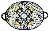 NOVICA Ceramic tray, Starlight Cross'