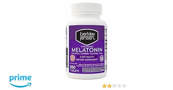Berkley Jensen QD Melatonin 5 mg., 250 ct. (pack of 2)