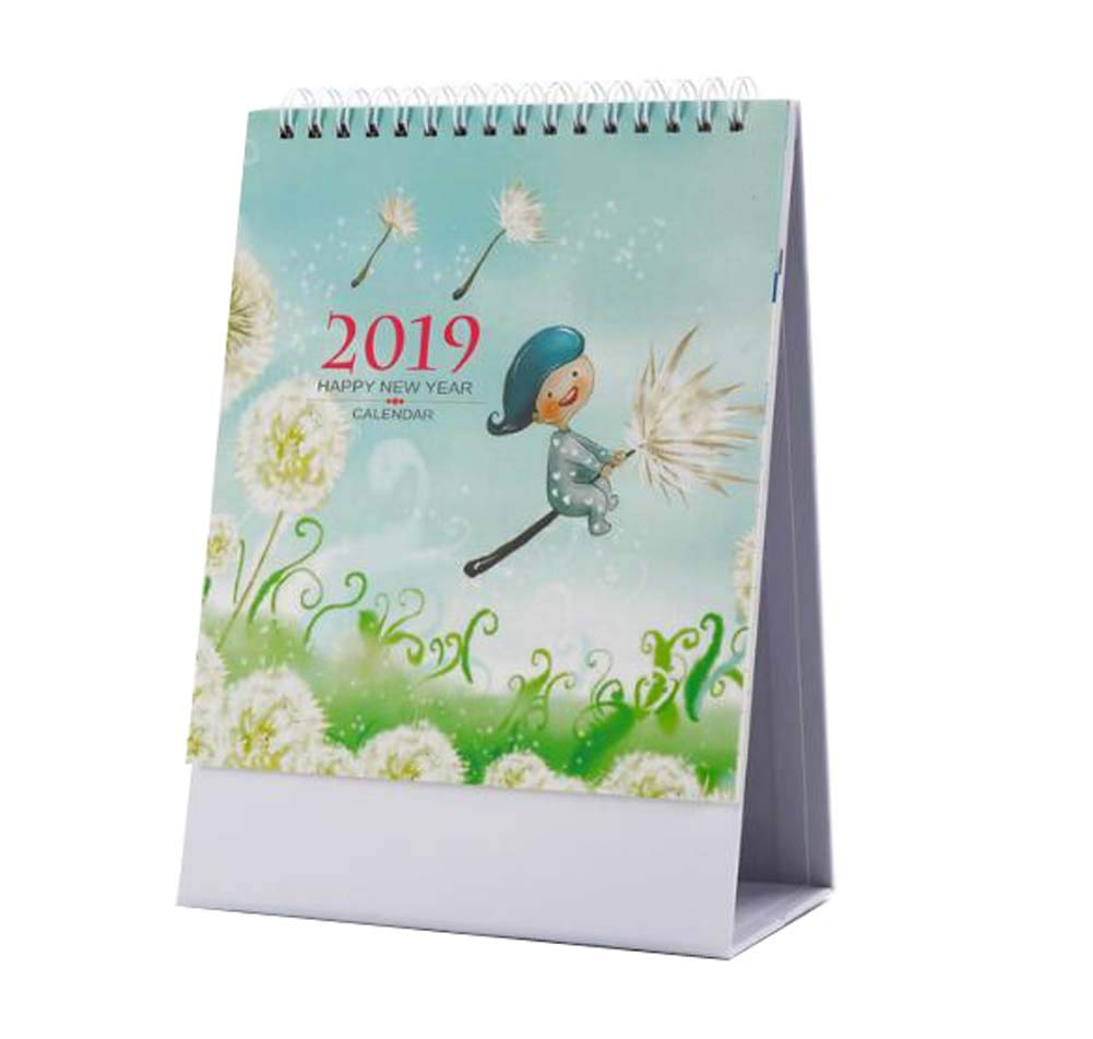 Beautiful Scenery 2019 Calendar Office/School/Home Supplies,A08