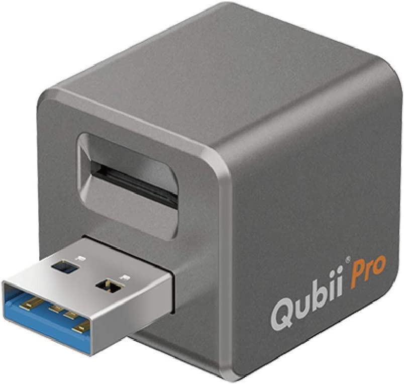 Qubii Pro Photo Storage Device for iPhone & iPad