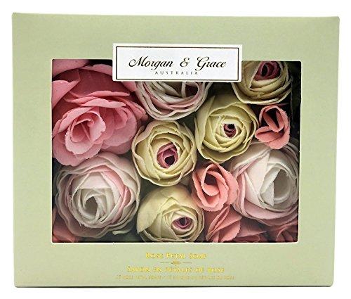 Rose Morgan Pearl (Morgan & Grace Rose Petal Soaps - 15 Soaps)
