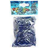 RAINBOW LOOM Medieval Navy Blue Rubber Bands with 24 C-Clips (600 Count)