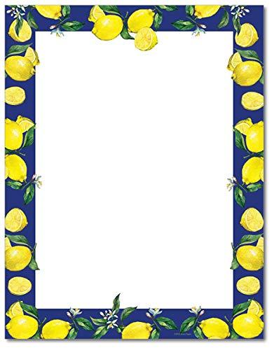 Lemon Drop Stationery Paper - 80 Sheets