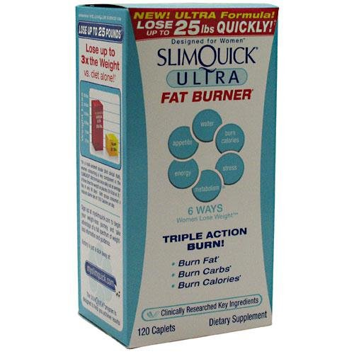 Slimquick Ultra Fat Burner SlimQuick 120 Caplet