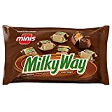 MILKY WAY Milk Chocolate Minis Size Candy Bars 11.5-Ounce Bag (Pack of 4)