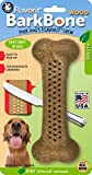 Pet Qwerks Flavorit BarkBone with Wood and Mint Flavor for Moderate Chewers (Made in the USA)