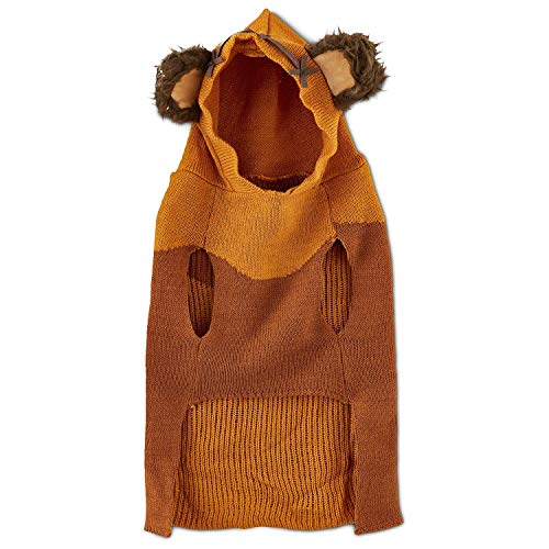 Star Wars Ewok Dog Sweater with Knit Hoodie (Small)