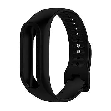 Meiruo Pulsera de Repuesto para Tomtom Touch, Fitness Banda Correa para Tomtom Touch (Black): Amazon.es: Deportes y aire libre