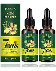 Ginger Germinal Oil,Hair Growth Serum, Hair Loss and Hair Frail Treatment, Anti Fall Hair For Women & Men (2Pack)