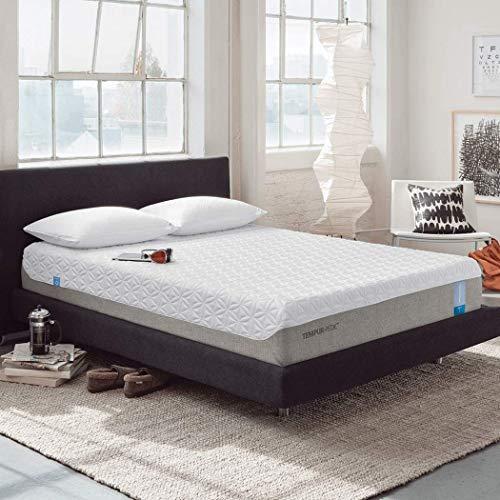 TEMPUR-Cloud Prima Medium-Soft Mattress, Luxury Cooling Memory Foam Layers, Queen, Made in USA, 10 Year Warranty