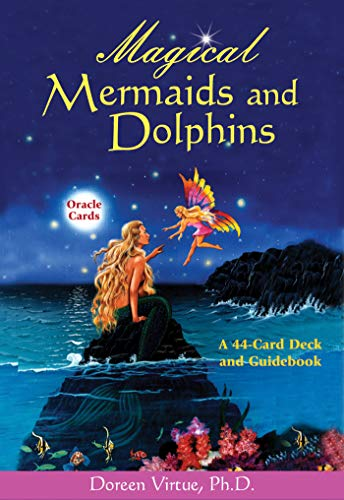 Dolphin Card - Magical Mermaids and Dolphin Oracle Cards: