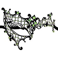 AoLice Venetian Ball Mask Phantom Of The Opera Laser Cut Mardi Gras Masquerade Party Mask