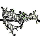 AoLice Venetian Ball Mask Phantom Of The Opera Laser Cut Mardi Gras Masquerade Party Mask