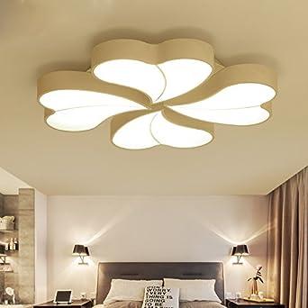 Einfache Moderne Romantische Schlafzimmer Lampe Decke Lampe Kinder Kreative  Persönlichkeit Blüten Beleuchtung, Mittel   Durchmesser