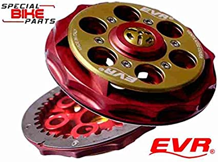 Ducati embrayage plaque d/'impression embrayage plaque d/'impression Noir//Rouge Nouveau