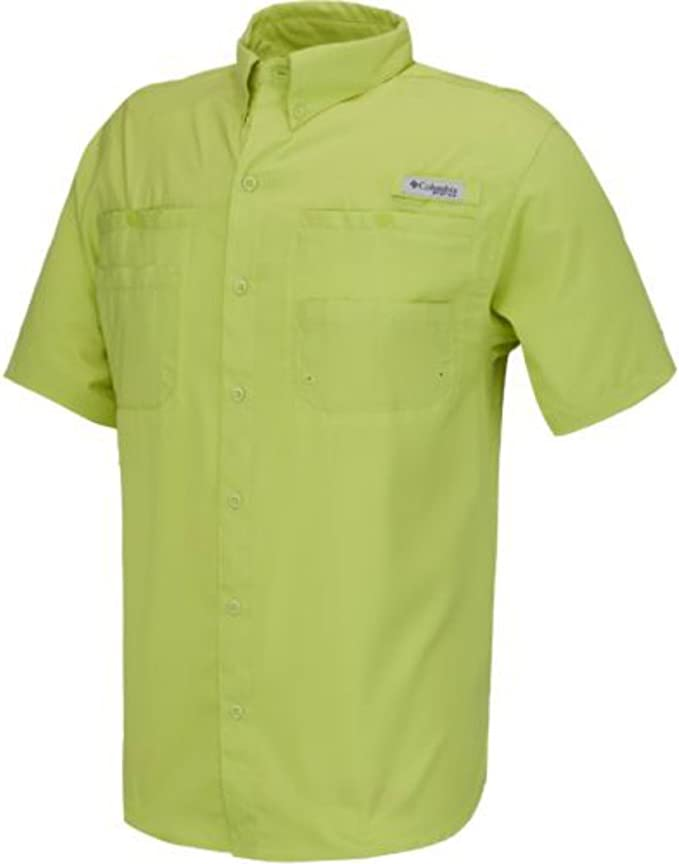 "New Mens Columbia PFG /""Tamiami II/"" Omni-Shade Wick Vented S//S Fishing Shirt"