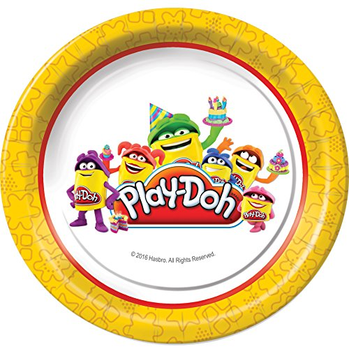 Play-Doh Dessert Plates Party Tableware Supplies -