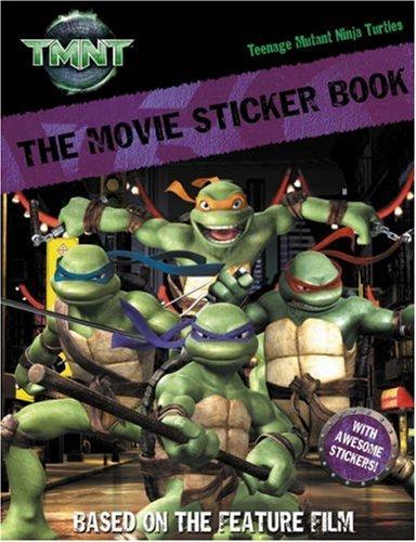 Movie Sticker Book (Teenage Mutant Ninja Turtles): Amazon.es ...
