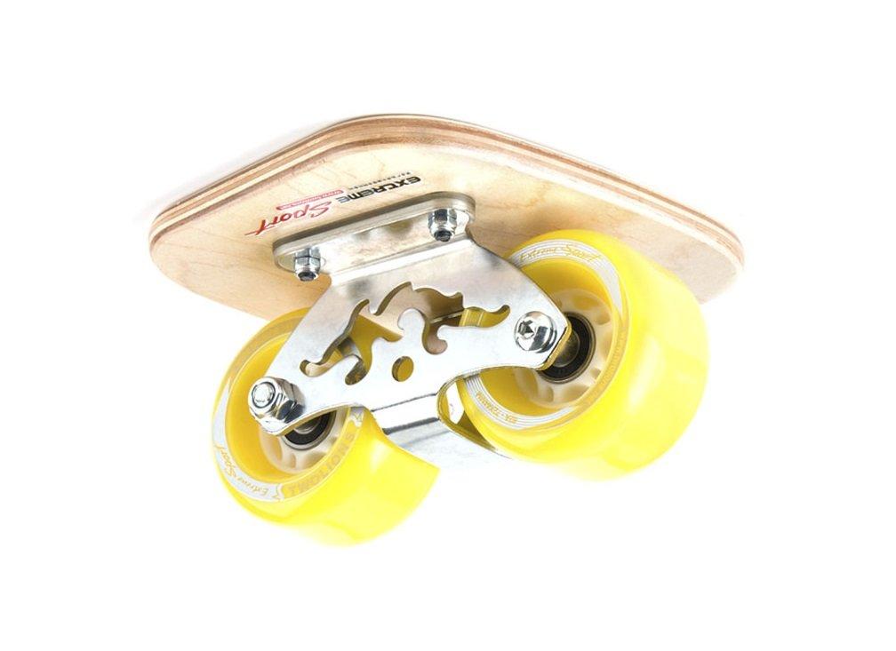 TWOLIONS-Grom Pro Skates Drift Skates,(Freeline saktes) ABS pedal Pedal de acero Con ruedas de la PU de 72 milímetros con los cojinetes ABEC-7 (Izquierda y derecha) (Azul) TWOLIONS-OS6